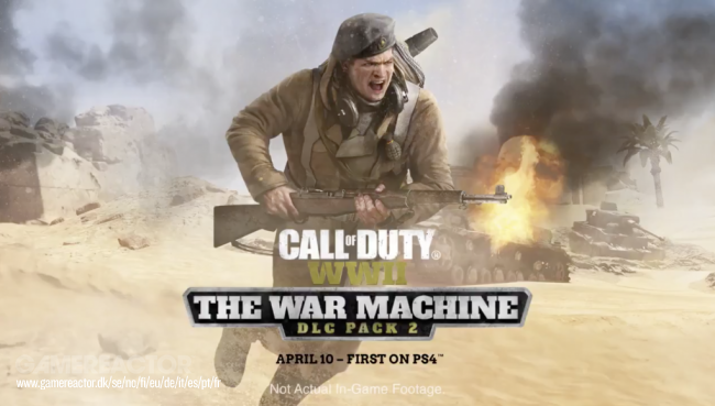 We play two hours of Call of Duty: WWII - The War Machine