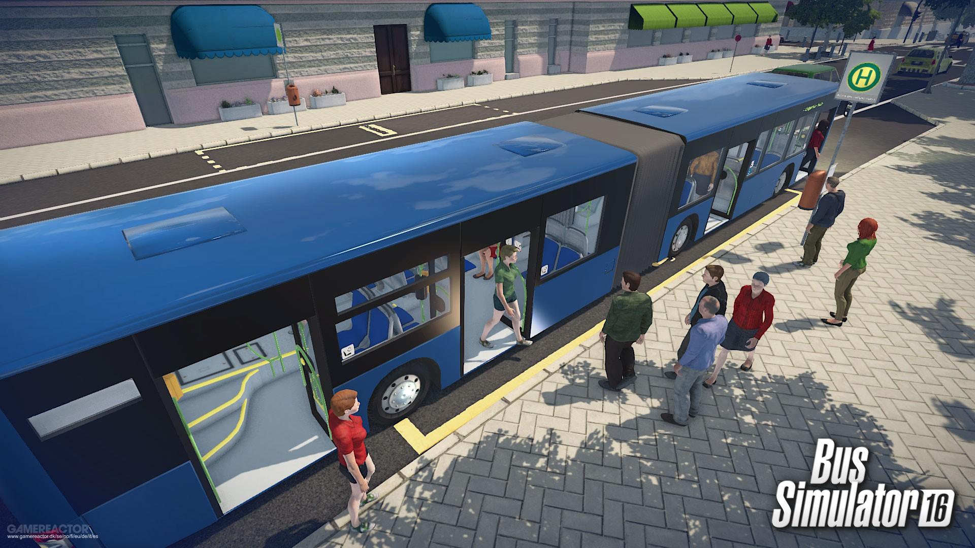pictures of bus simulator 16 17 19. Black Bedroom Furniture Sets. Home Design Ideas