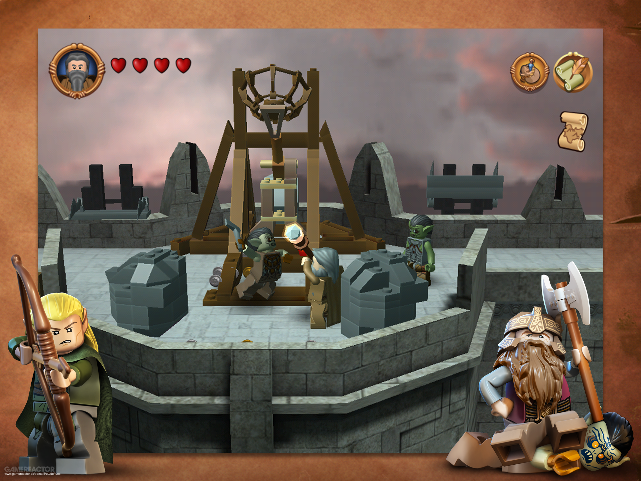 Pictures Of Lego Lord The Rings Out On IOS 9 10