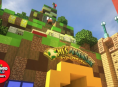 A Minecraft player is working to recreate Super Nintendo World in-game
