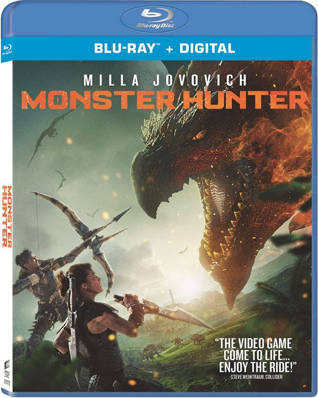 The Monster Hunter movie is releasing on DVD and Blu-Ray in March