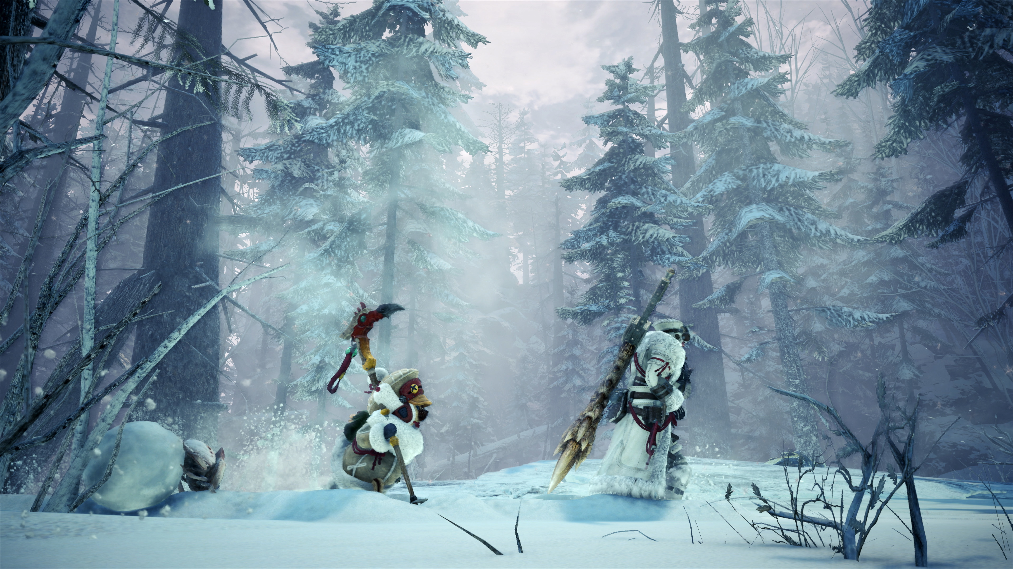 Pictures of MHW Iceborne rewards those who help others level