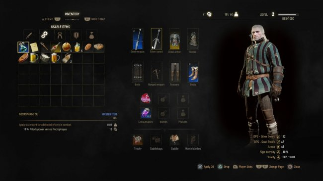 how to make potions in witcher 3