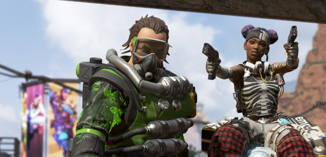 Apex Legends causes sales surge for Apex Construct