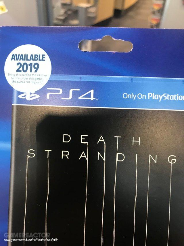 Best Buy Canada unveils Death Stranding's launch window?