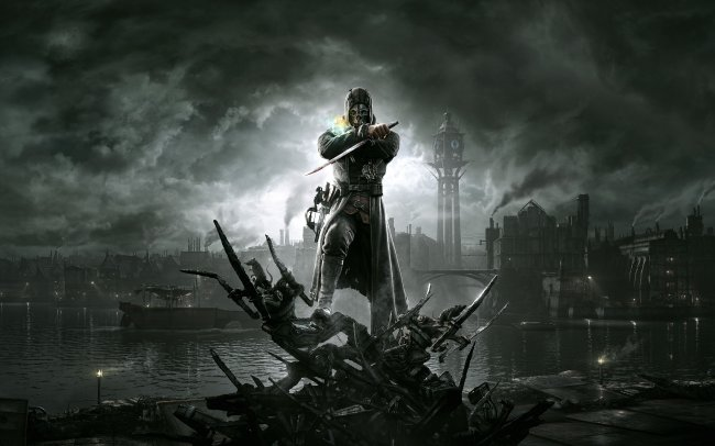Dishonored screens and art