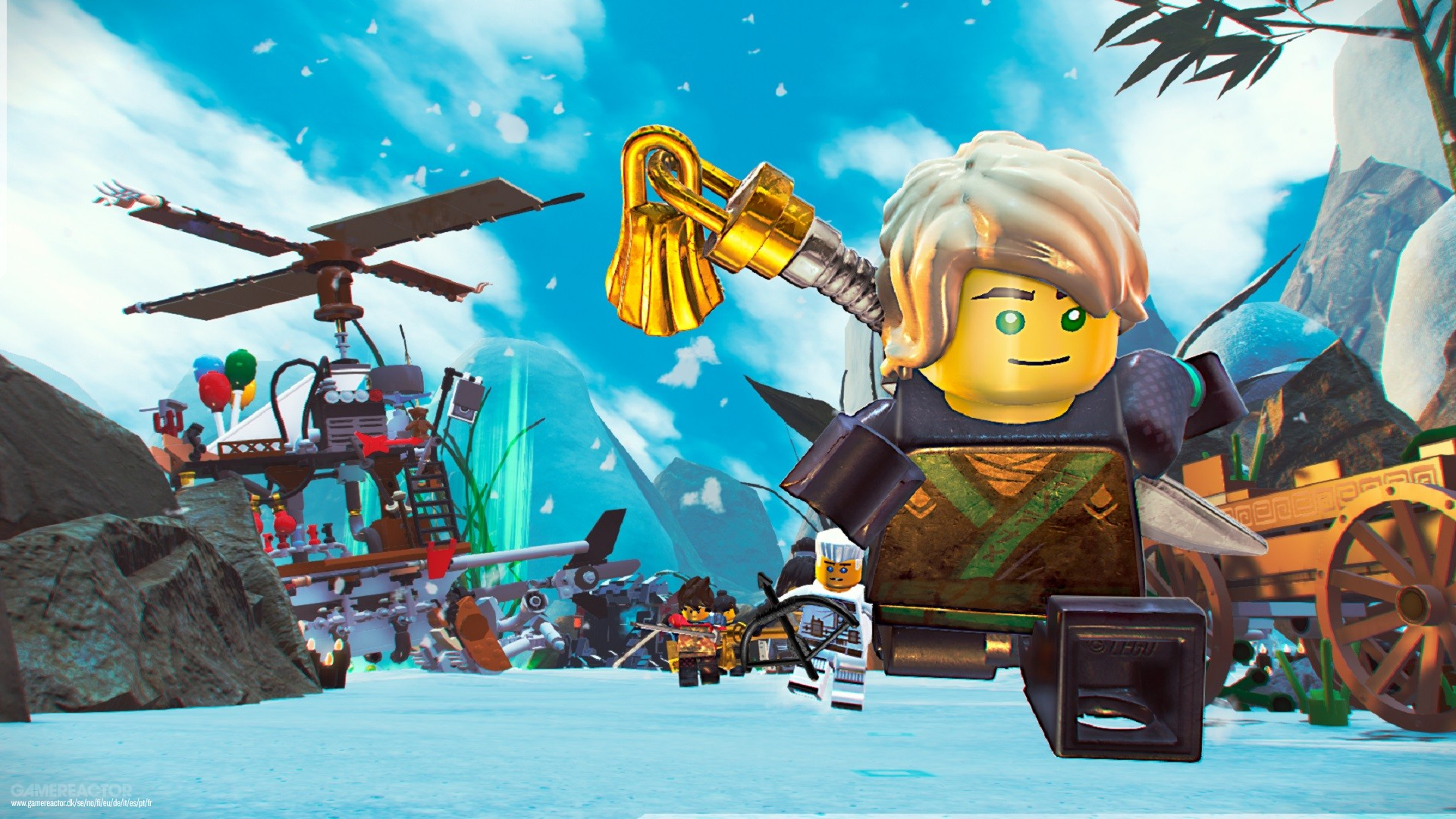 The Lego Ninjago Movie Video Game Review Gamereactor