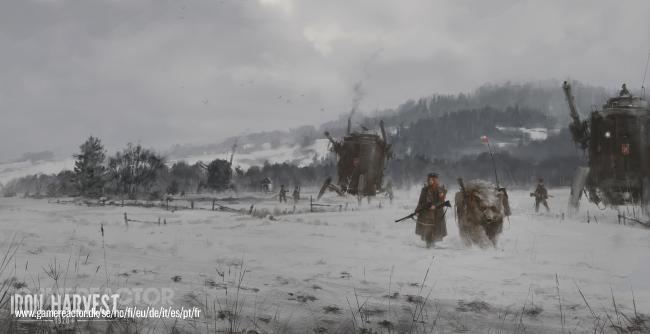 Iron Harvest is a huge success on Kickstarter