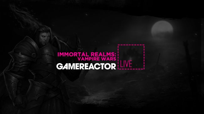 We're playing Immortal Realms: Vampire Wars on GR Live