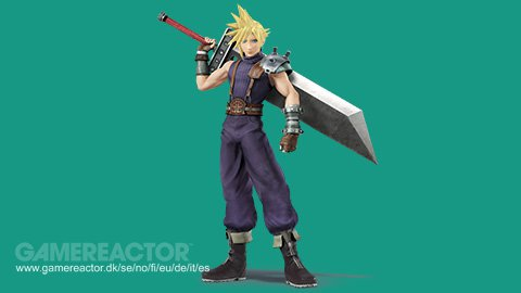 pictures of cloud strife from ff vii joins super smash bros 1 1