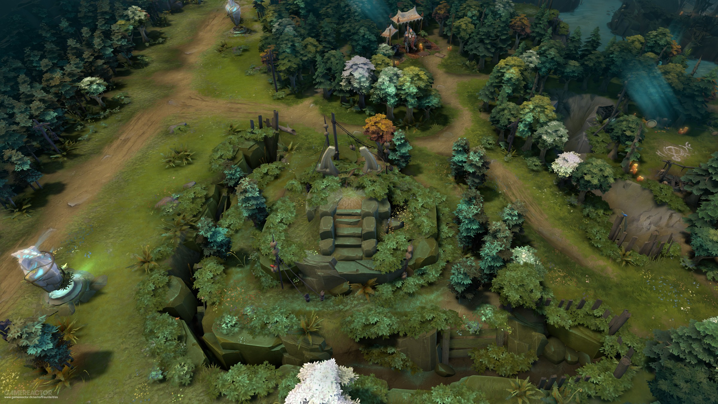 pictures of latest dota 2 update changes up the map layout 4 7