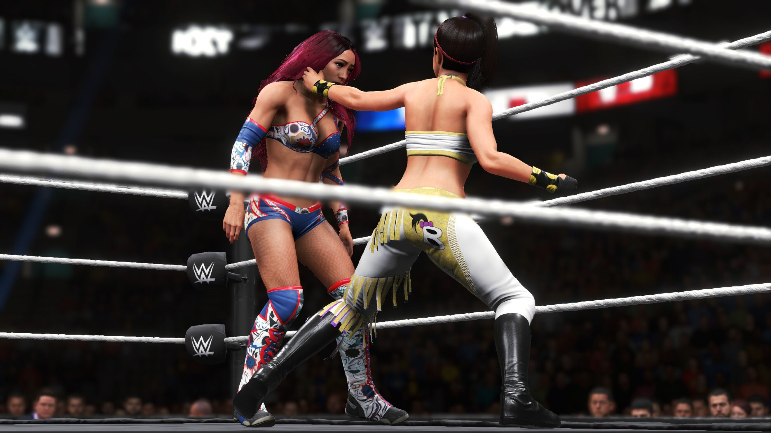 hur du slГҐr pГҐ bakgrunden matchmaking i WWE 2k15