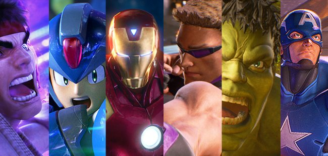 The entire Marvel vs. Capcom: Infinite roster revealed