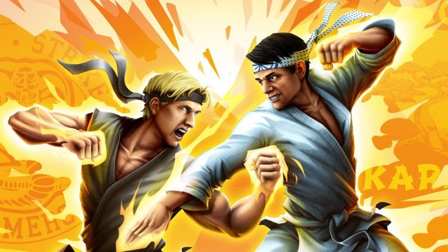 Kicks o'plenty in the Cobra Kai: The Karate Kid Saga Continues launch trailer