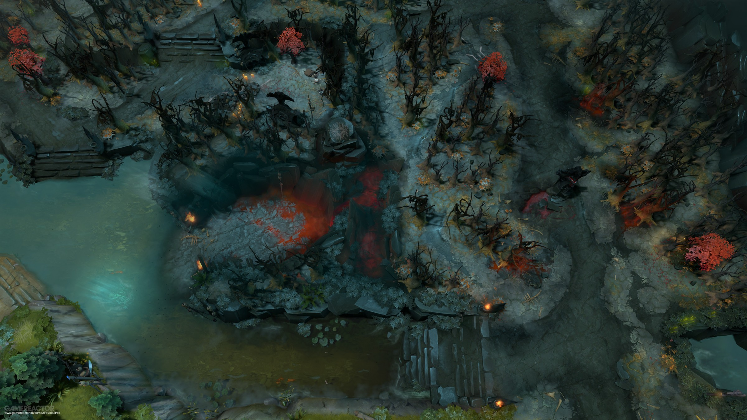 Pictures of Latest Dota 2 update changes up the map layout 7/7
