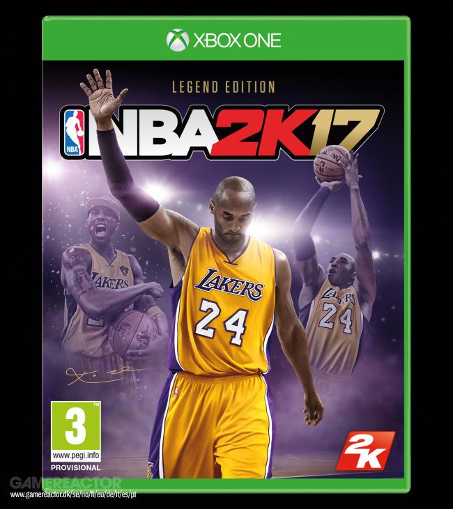 NBA 2K17 Legend Edition is dedicated to Kobe Bryant