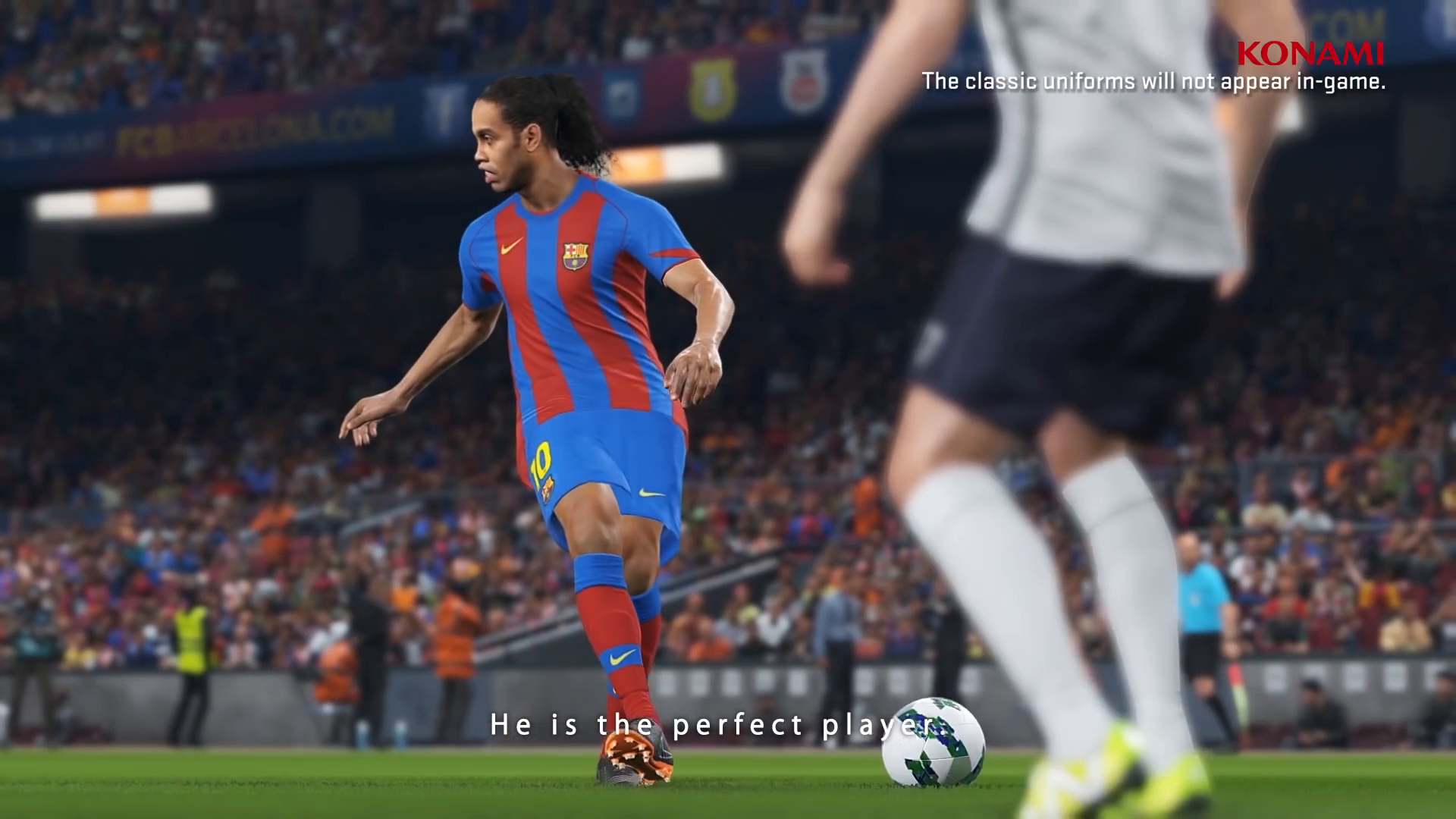 PES 2018 welcomes Ronaldinho - Pro Evolution Soccer 2018