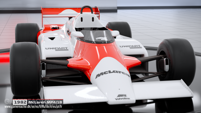 All incoming classic cars revealed for F1 2018