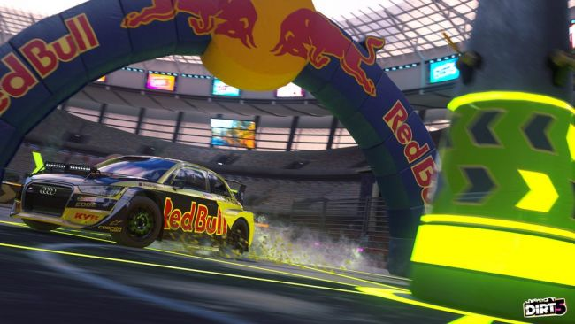 Dirt 5 is getting the Red Bull Revolution Update today, free for all players