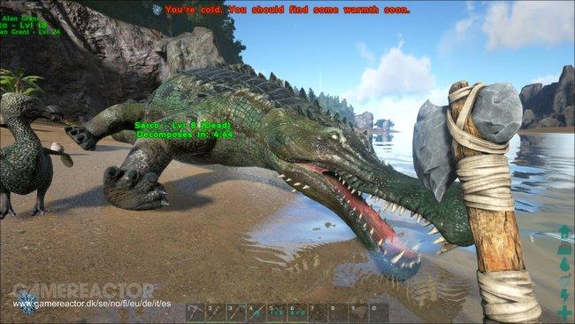 how to kill a dinosaur in ark