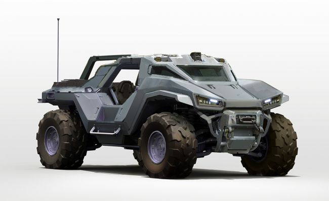 New Warthog introduced to Halo Infinite