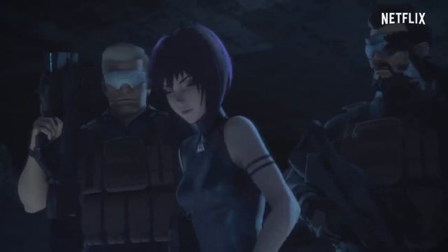 Netflix's first full Ghost in the Shell: SAC_2045 trailer is here