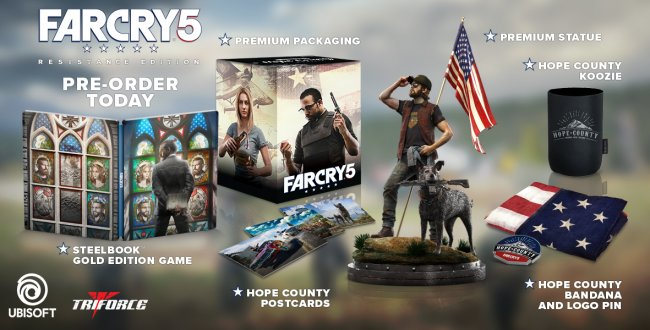 far cry 5 resistance edition announced