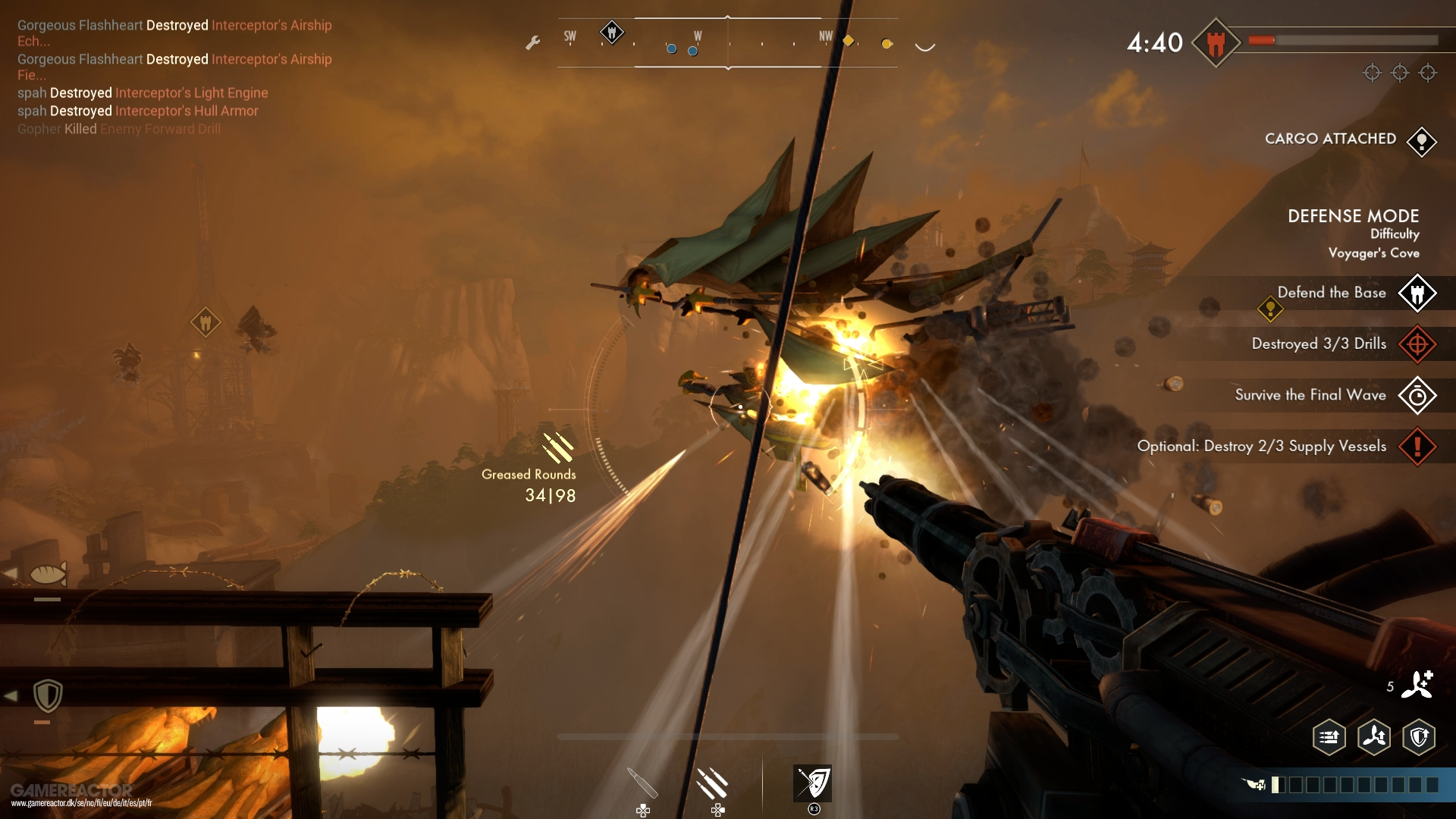 Guns of Icarus: Alliance Review - Gamereactor
