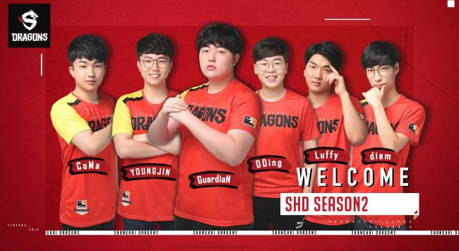 Shanghai Dragons reveal six new signings