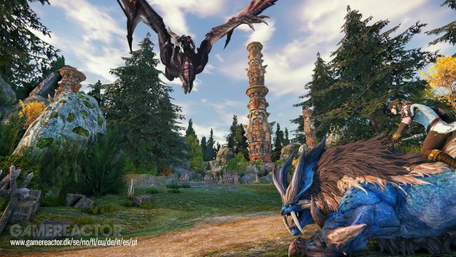 Riders of Icarus gets a new gameplay trailer