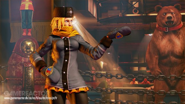 Street Fighter V's Kolin detailed in new trailer