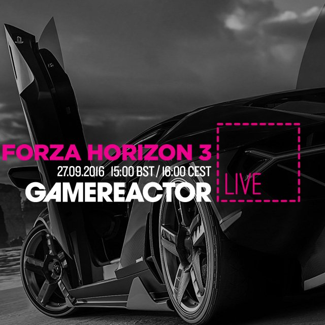 Today on GR Live: Forza Horizon 3