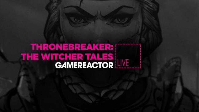 We're playing Thronebreaker: The Witcher Tales on GR Live