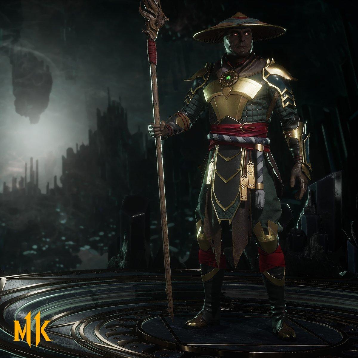 New Render Shows Raiden Character Model In Mortal Kombat 11