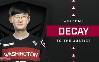 Decay joins Washington Justice