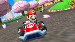 Mario Kart 3DS screen blowout
