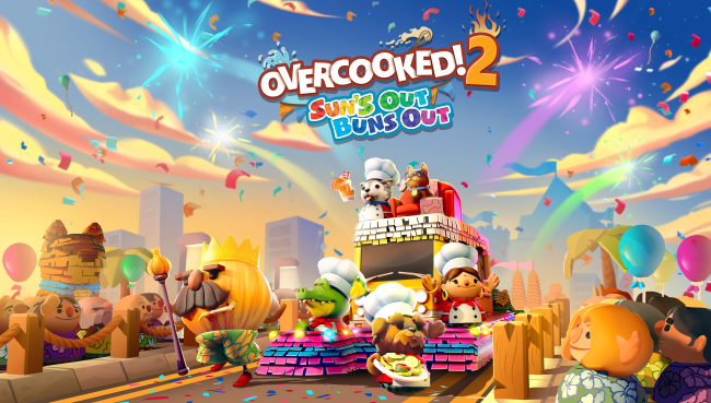 Overcooked 2 DLC Suns Out Buns Out is now available