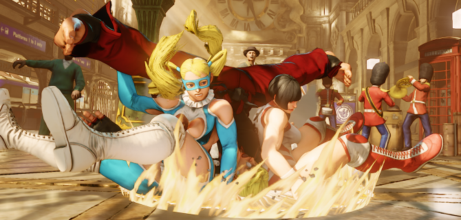Rainbow Mika announced for Street Fighter V