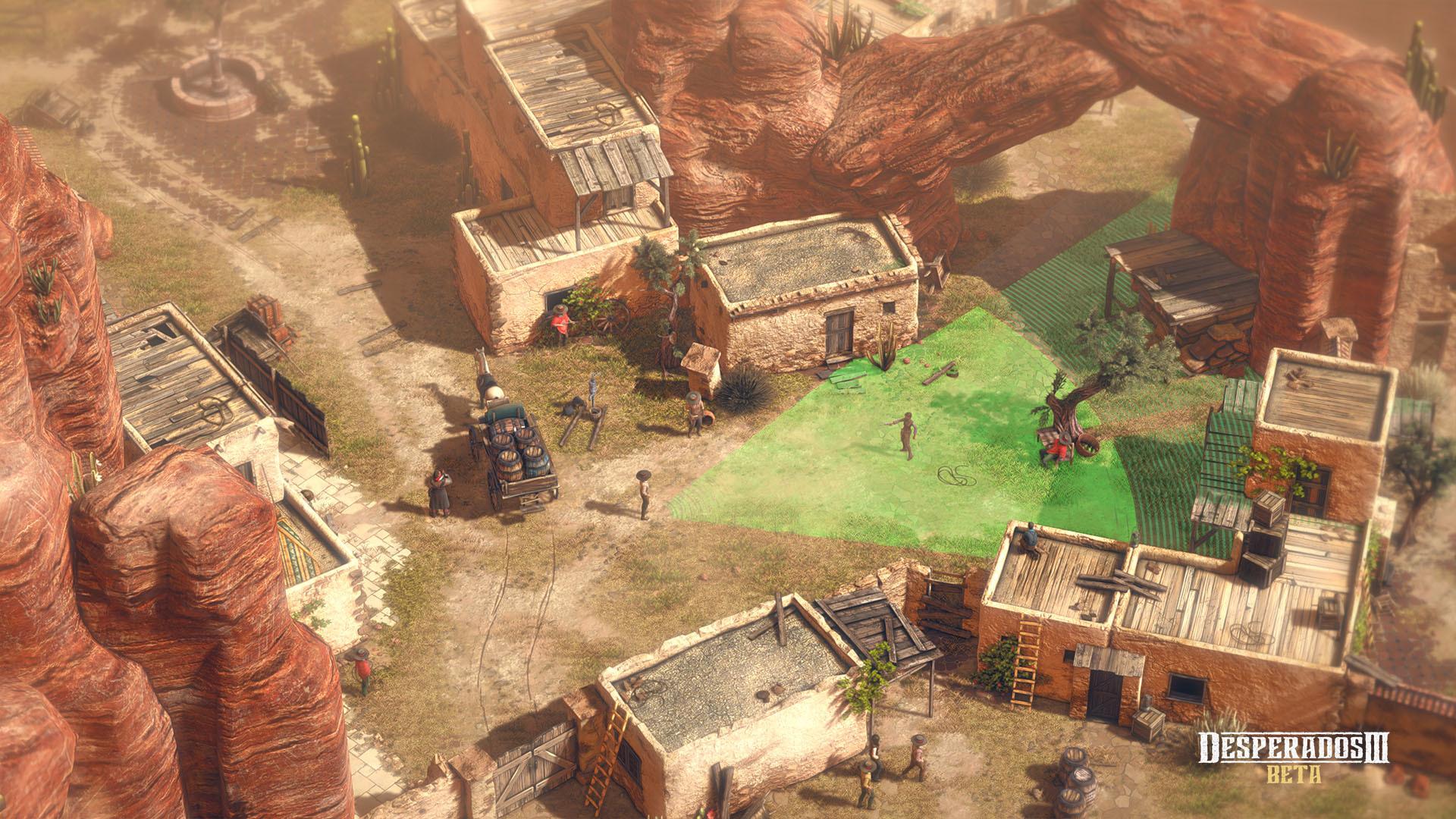 Desperados Iii Trailer Shows In Game Scenario Using Miniatures