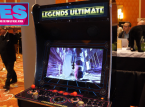 The Legends Ultimate Arcade cabinet on show at CES 2020