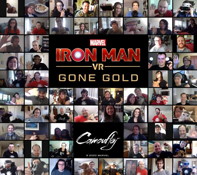 Iron Man VR has officially gone gold