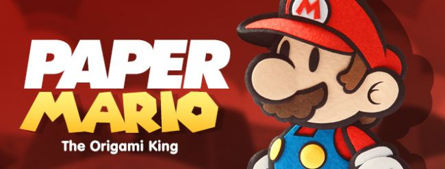 Paper Mario: The Origami King - Preview Impressions