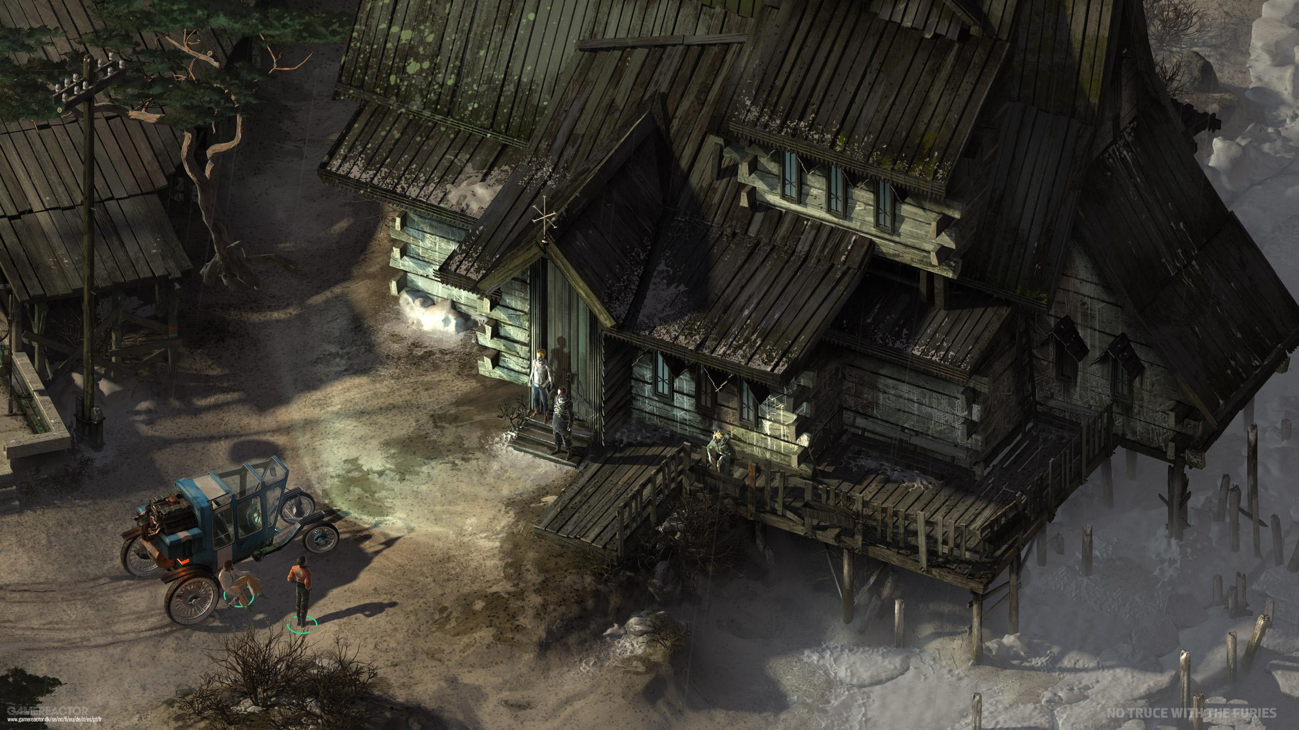 Pictures of No Truce with the Furies is now Disco Elysium 2/7