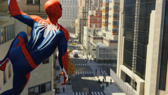 Spider-Man is still perched atop the UK charts