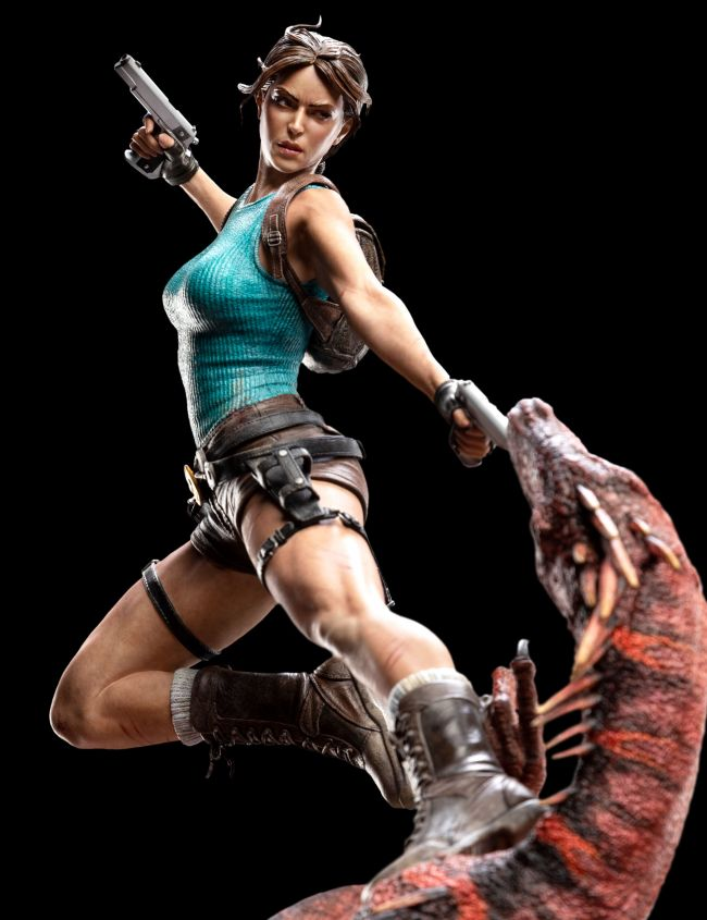 Weta announces equally expensive and awesome Lara Croft statue