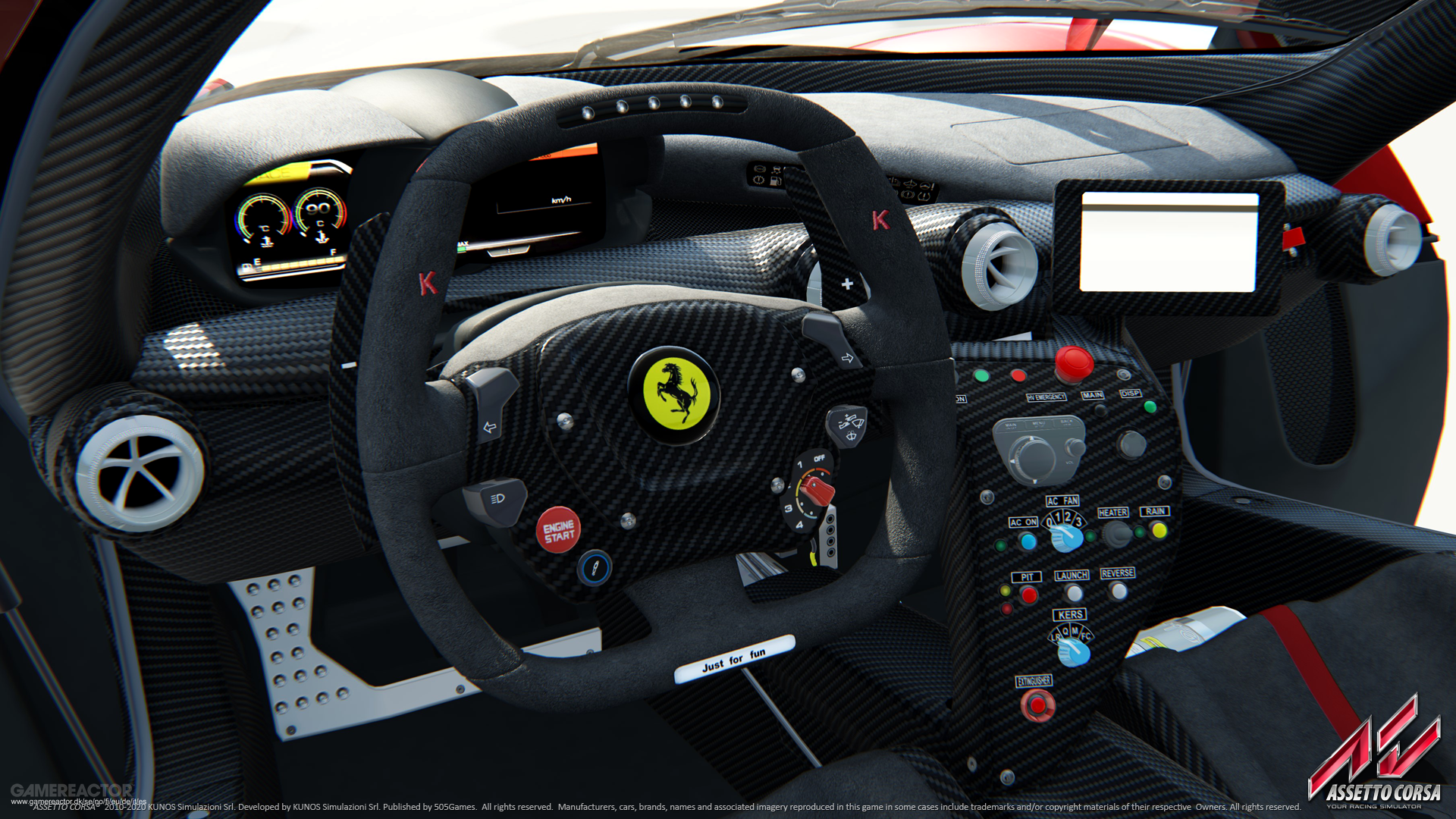 This is how Force Feedback works in Assetto Corsa on PS4