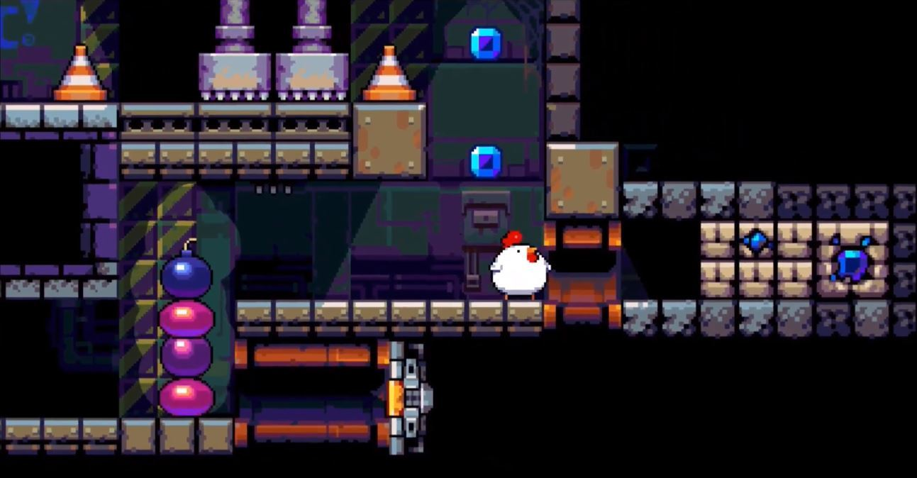 Bomb Chicken Comes Clucking Onto Switch In 2018 Game