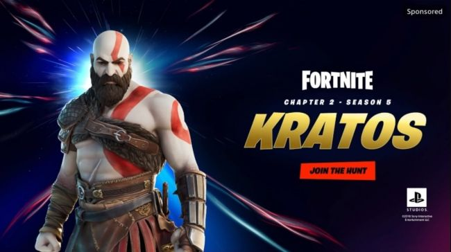 Is Kratos from God of War joining Fortnite?