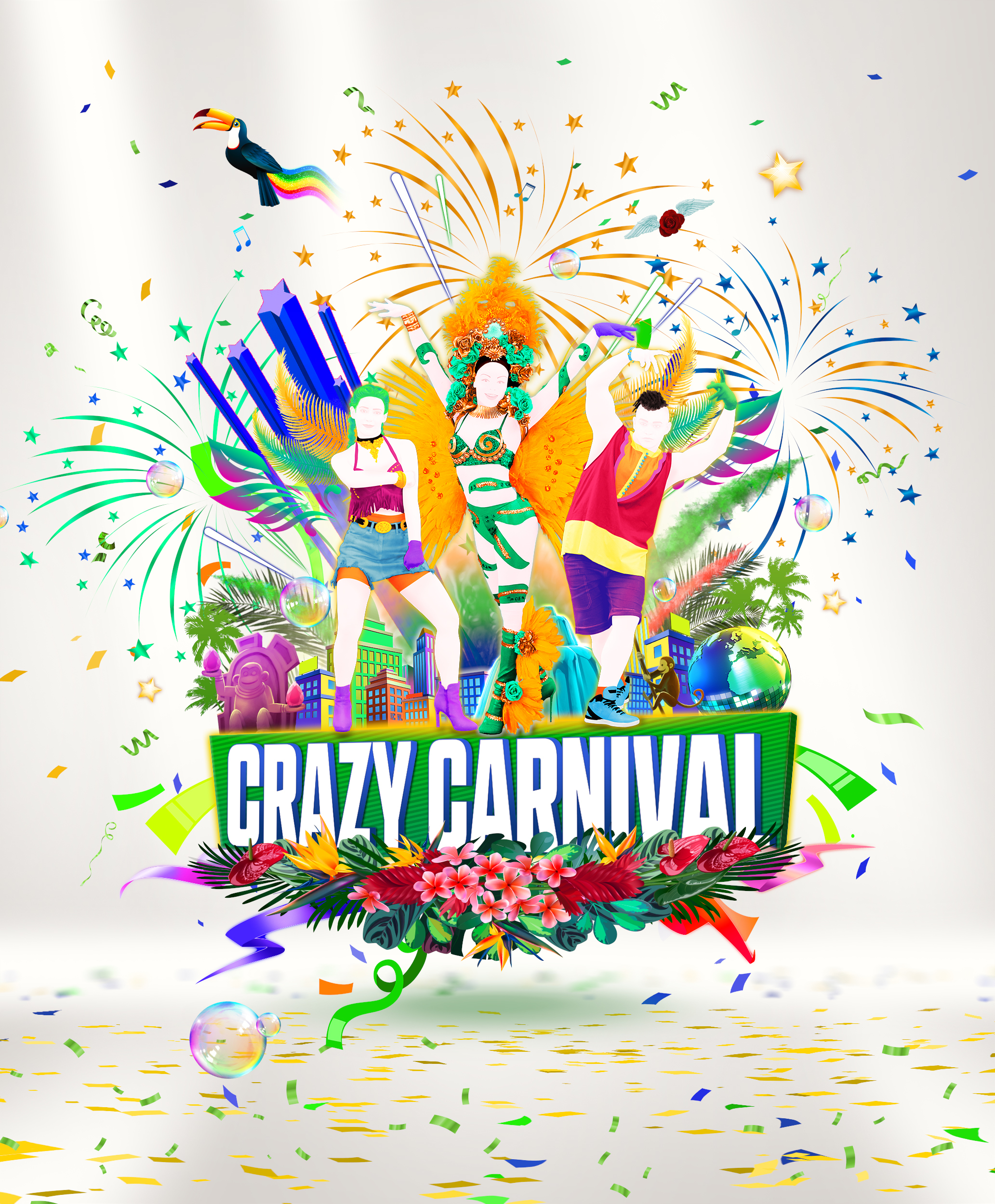 The Crazy Carnival update has landed in Just Dance 2019