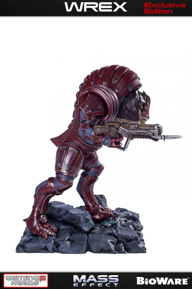 Gaming Heads unveils Mass Effect Urdnot Wrex statue